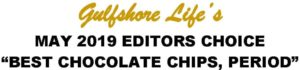 Chloe's Cookies- Gulfshore LIfe's Editors Choice-5-19