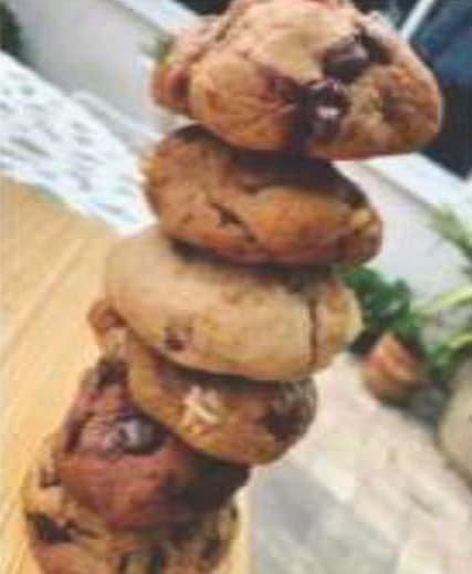 Chloe's Cookie Stack